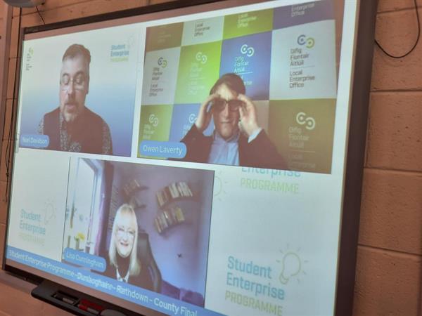 Student Enterprise Programme Awards runner up prize