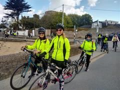 TY wellbeing cycle to Sandycove