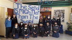 The Send is Mightier than the Sword - Shield My School Anti-Bullying event run by the Student Council