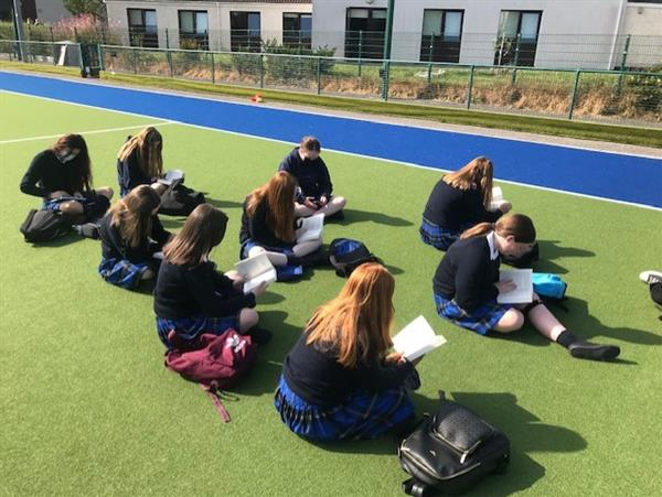 4.2 reading in the sunshine